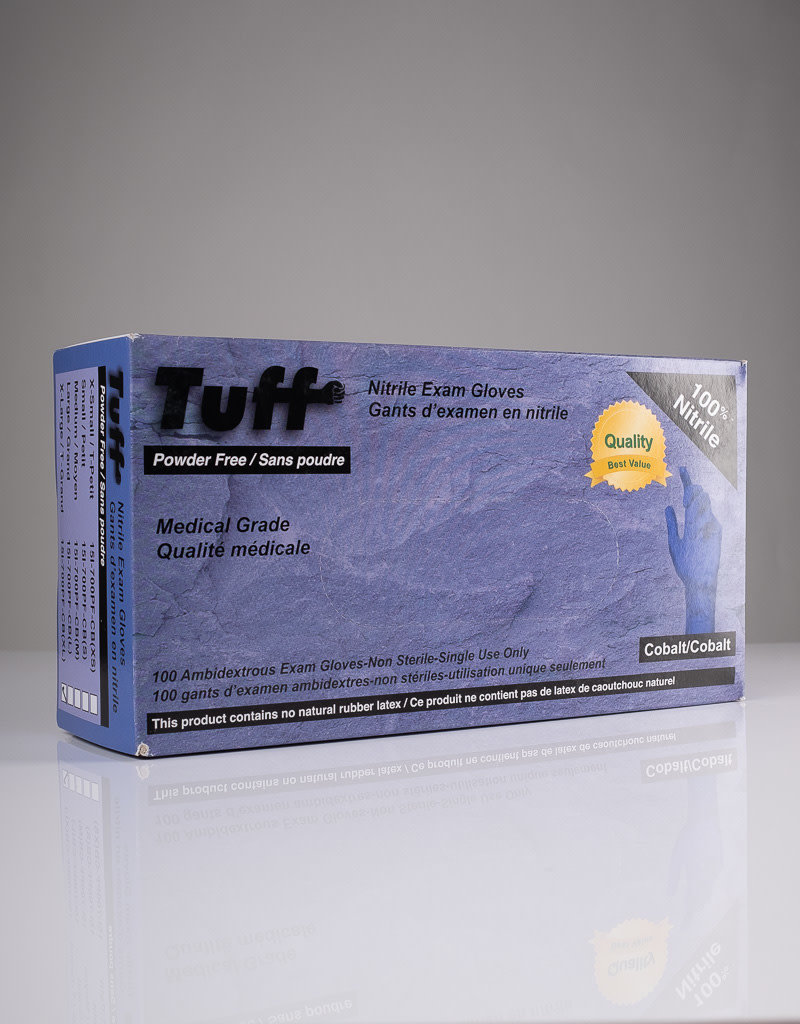Tuff Tuff Nitrile Gloves - Powder Free - M - Single