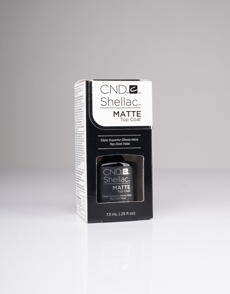CND CND Shellac - Matte Top Coat - 0.25oz