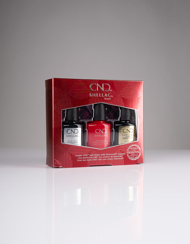 CND CND 40 Year Anniversary Shellac Pro Kit - 3pc