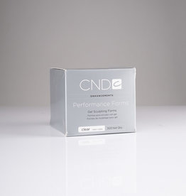 CND CND Gel Sculpting Forms - Clear - 300pc