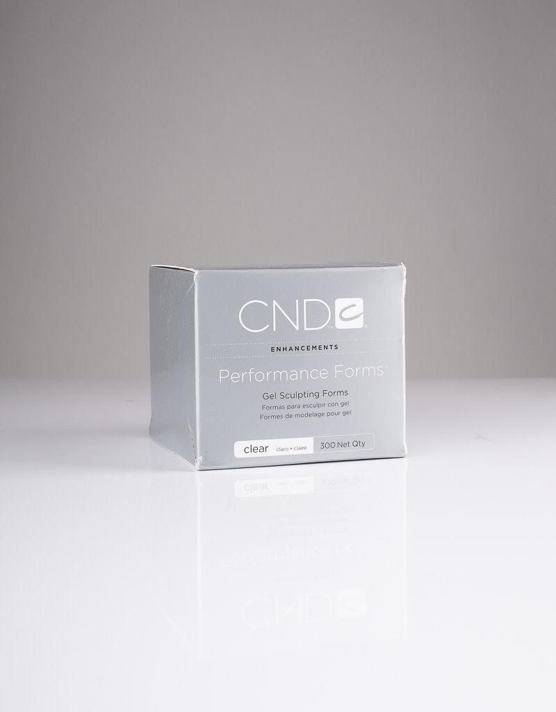 CND CND Gel Sculpting Forms - Clear - 300pc