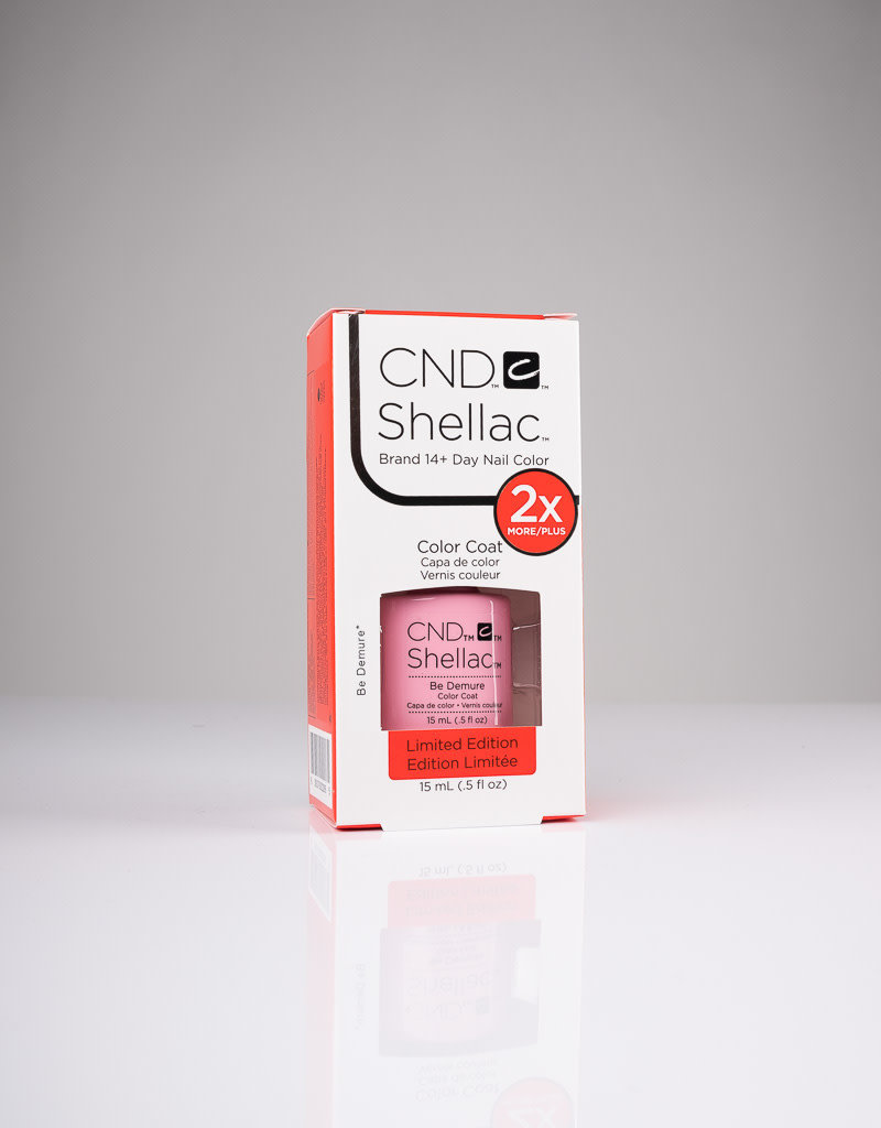CND CND Shellac LE - Be Demure - 0.5oz