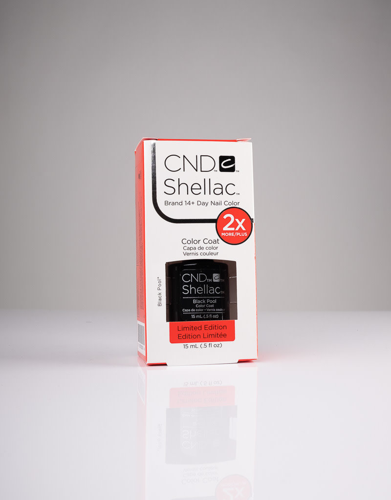CND CND Shellac LE - Black Pool - 0.5oz
