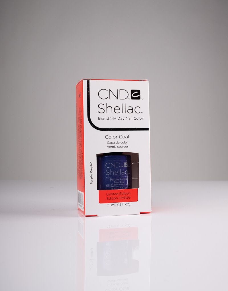 CND CND Shellac LE - Purple Purple - 0.5oz