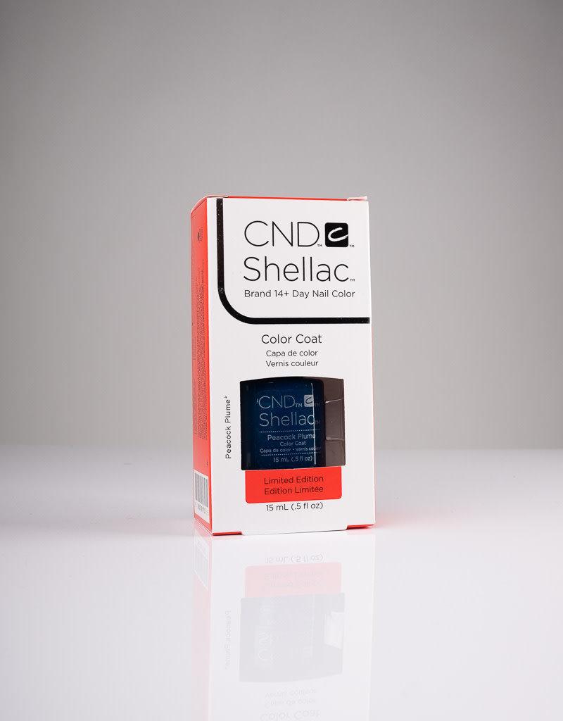 CND CND Shellac LE - Peacock Plum - 0.5oz