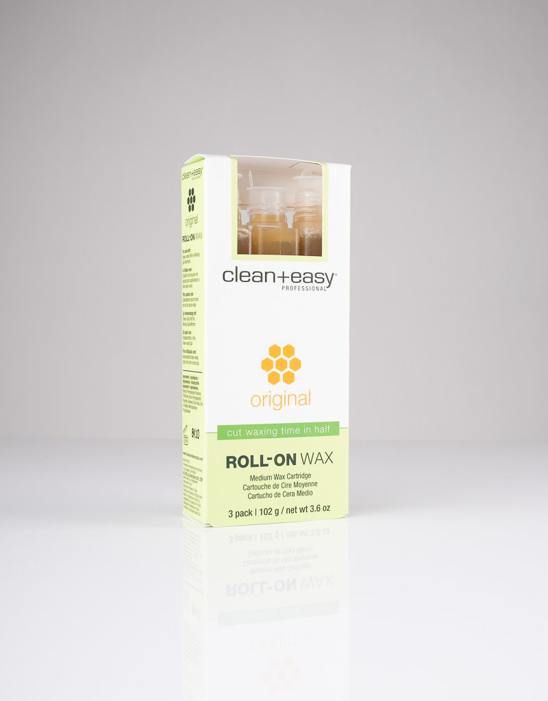 Clean+Easy Clean+Easy Roll-On Wax - Original Medium - 3pc