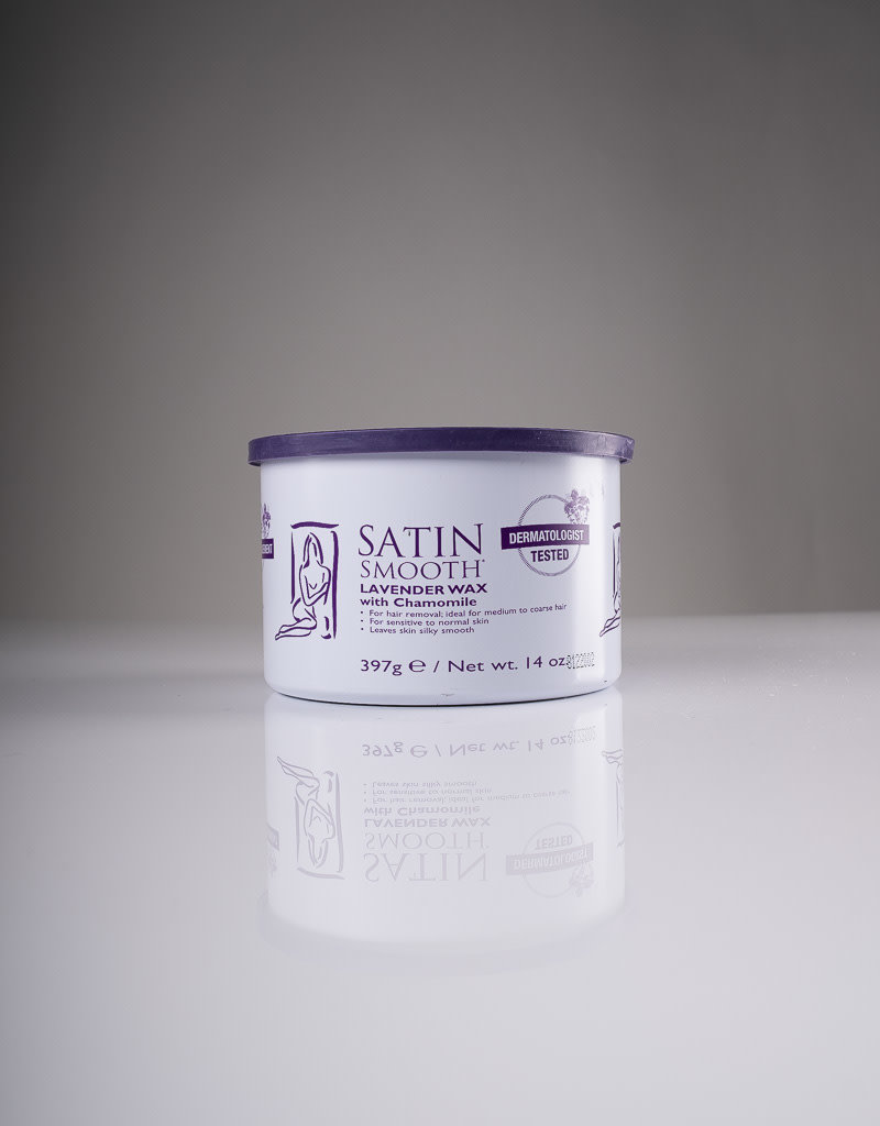 Satin Smooth Satin Smooth Cream Wax - Lavender with Chamomile - 14oz - Single