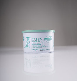 Satin Smooth Satin Smooth Wax - Aloe Vera with Vitamin E - 14oz - Single