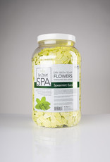 LaPalm LaPalm Dry Bath Soap Flowers - Spearmint Eucalyptus - 1gal