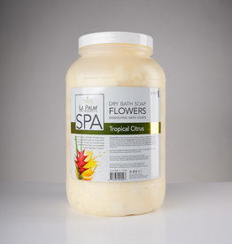 LaPalm LaPalm Dry Bath Soap Flowers - Tropical Citrus - 1gal