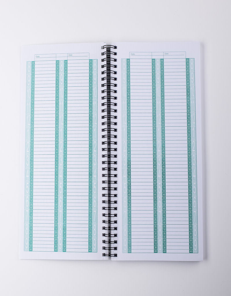 ABS ABS Appointment Book - 2 Column - 150pgs