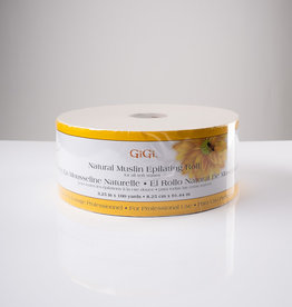 GiGi GiGi Natural Muslin Roll - 3.25in x 100yd