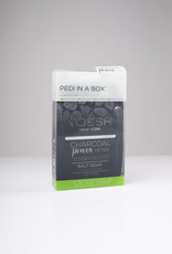 VOESH Voesh Pedi In A Box - Deluxe 4 Step - Charcoal Power Detox