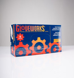 Gloveworks Gloveworks Latex Gloves - Powder Free - S - Single