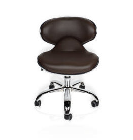 J&A J&A Euro Stool - Chocolate