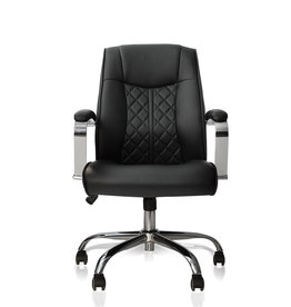 J&A J&A Monaco Customer Chair - Black
