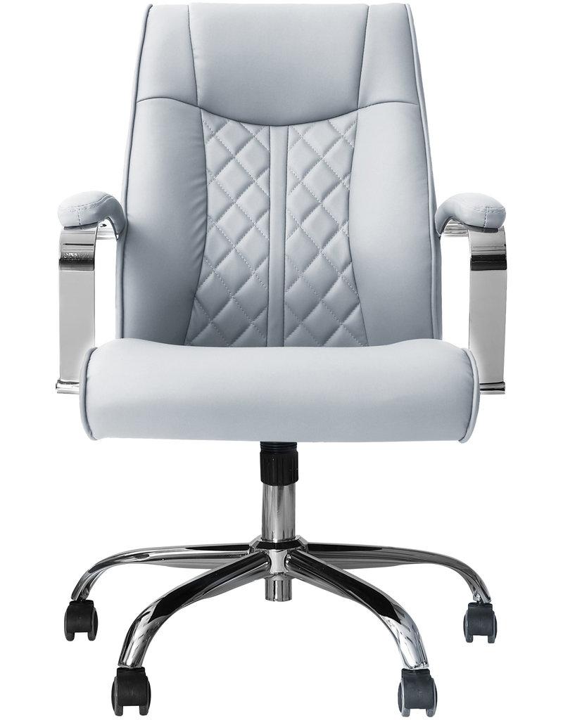 J&A J&A Monaco Customer Chair - Grey