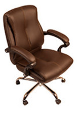 J&A J&A Venus Customer Chair - Chocolate