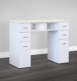 J&A J&A Manicure Table N104A - Single - White