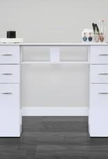J&A J&A Manicure Table N104A - Single - White