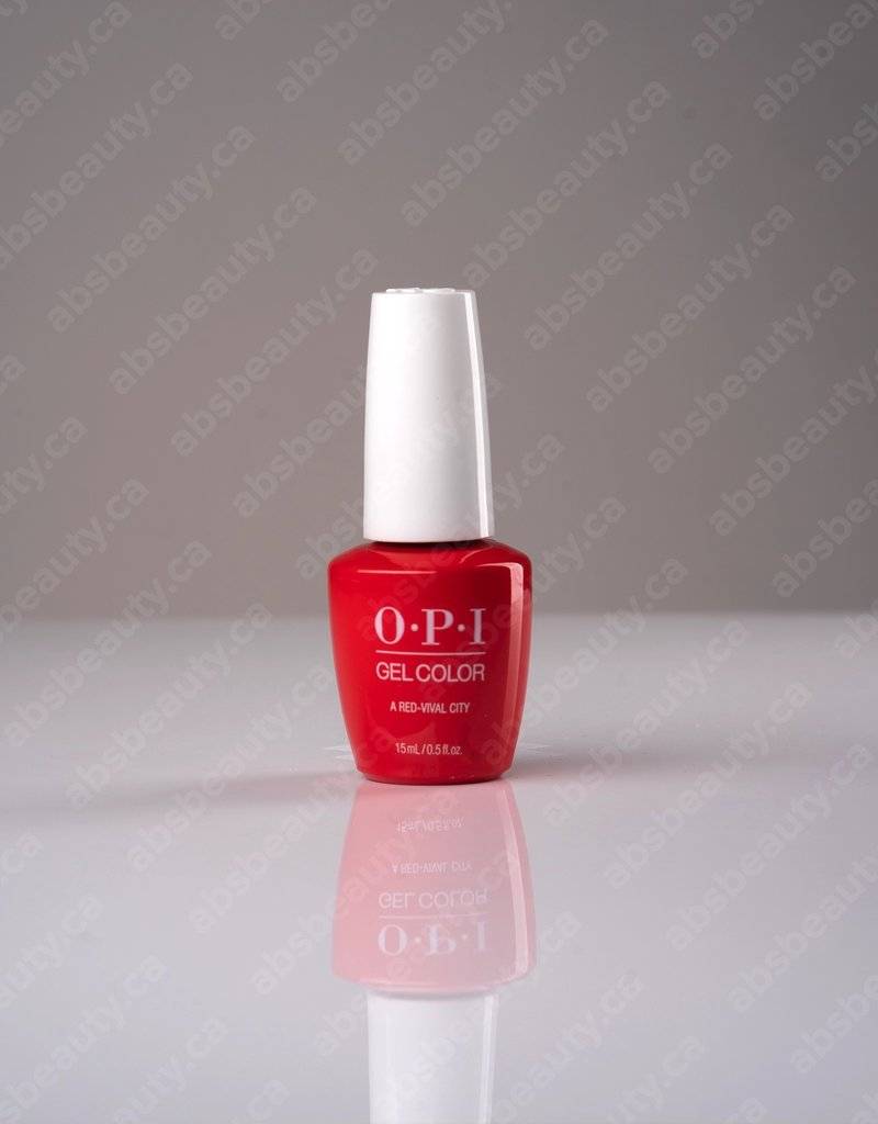 OPI OPI GC - A Red-Vival City - 0.5oz