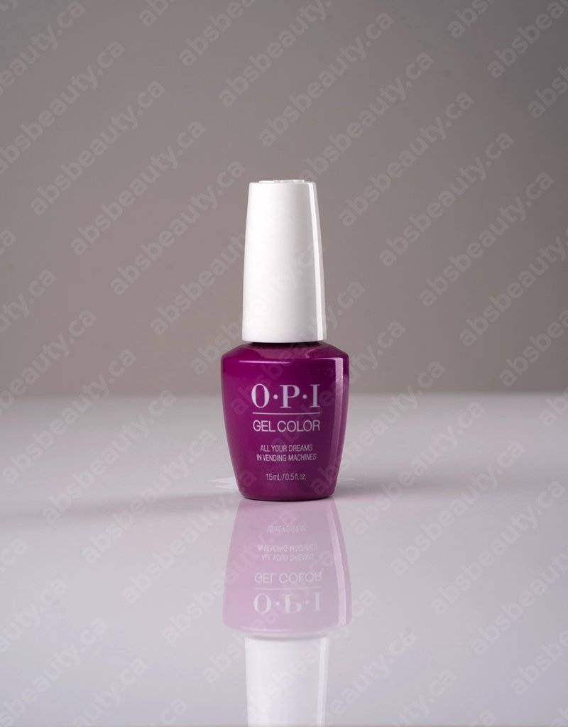 OPI OPI GC - All Your Dreams In Vending Machines - 0.5oz