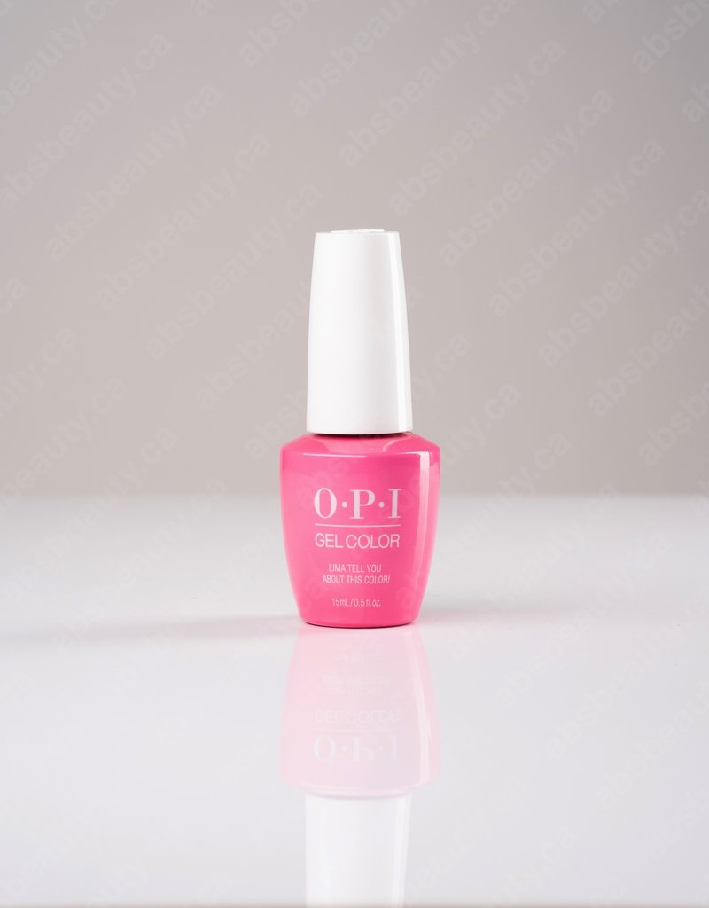 OPI OPI GC - Lima Tell You About This Color! - 0.5oz