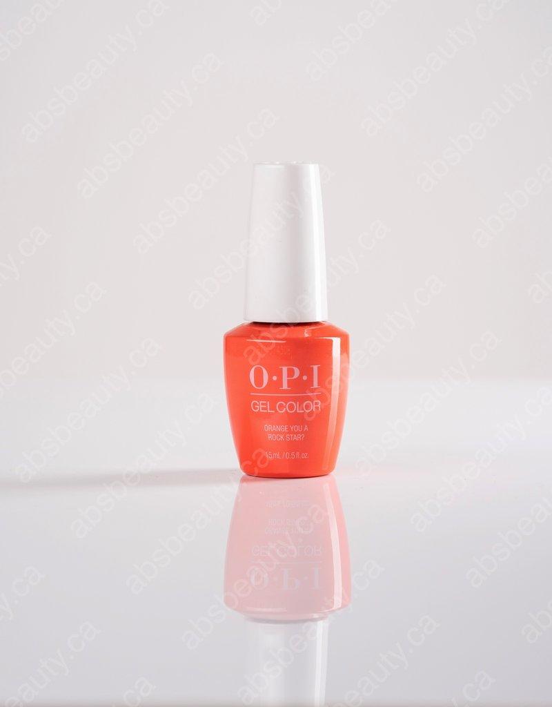 OPI OPI GC - Orange You A Rock Star? - 0.5oz