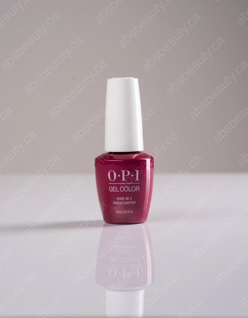 OPI OPI GC - Spare Me A French Quarter - 0.5oz
