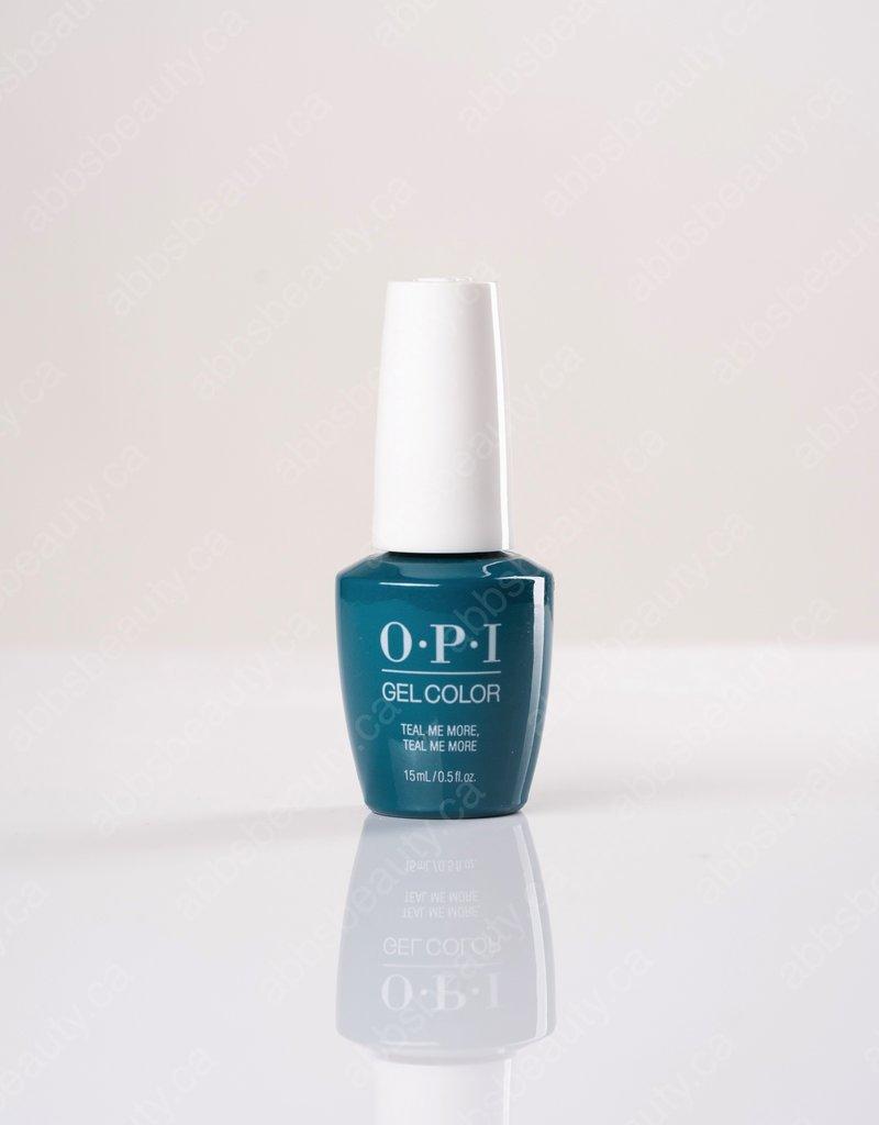 OPI OPI GC - Teal Me More, Teal Me More - 0.5oz