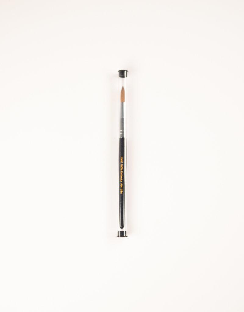 Unik Unik Acrylic Brush - 100% Kolinsky - #14