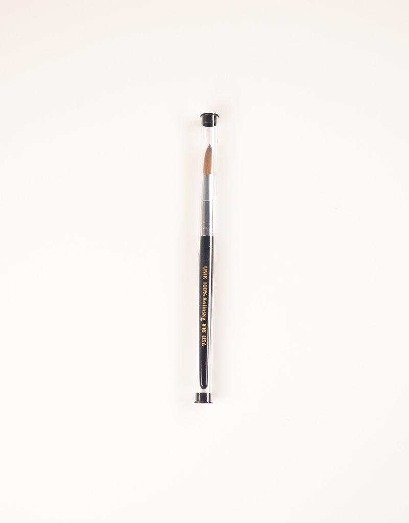 Unik Unik Acrylic Brush - 100% Kolinsky - #16