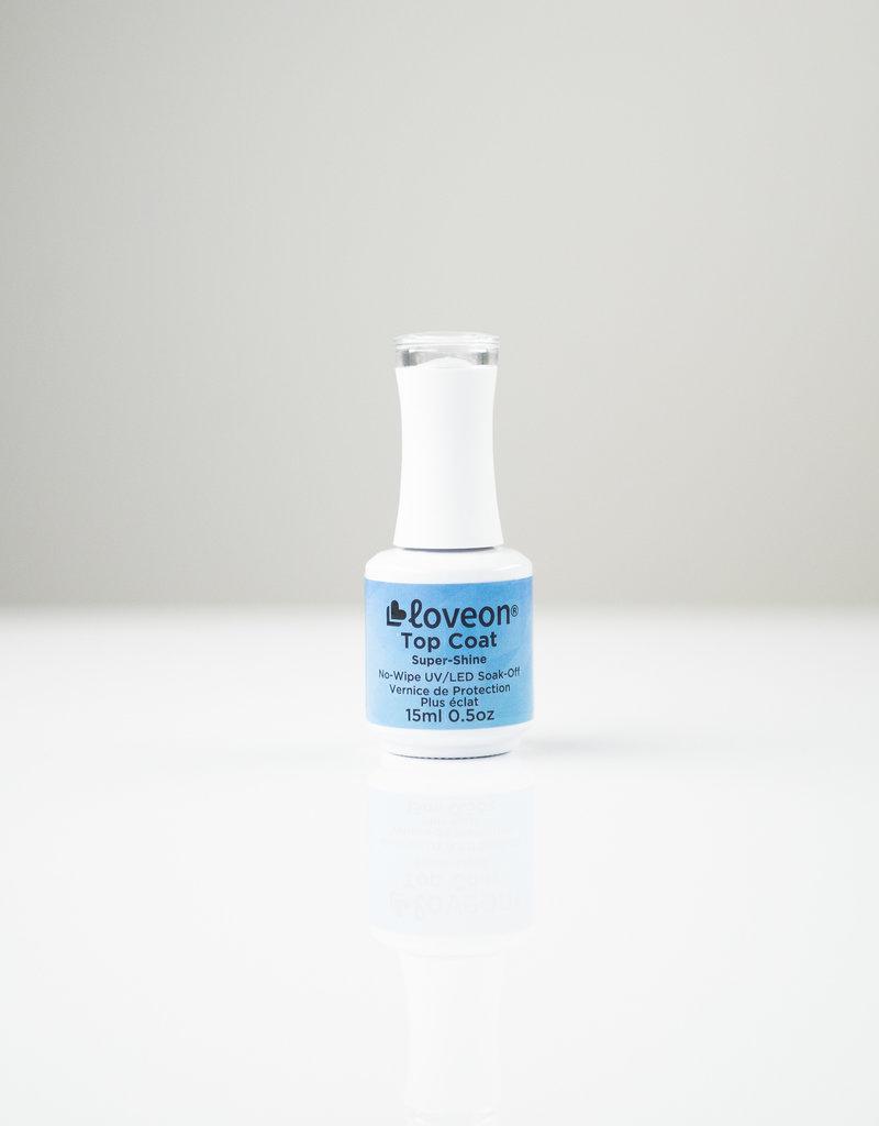 Loveon Loveon GC - Top Coat - No Wipe / Super Shine - 0.5oz