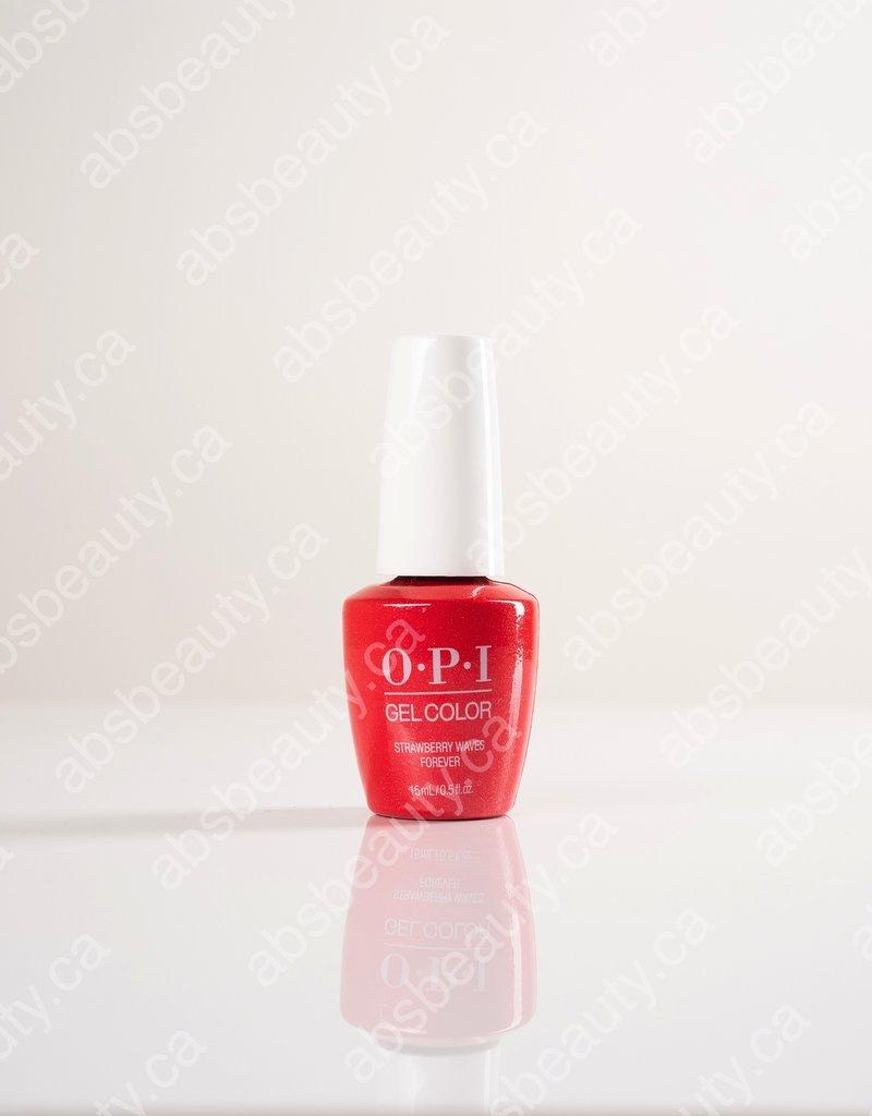 OPI OPI GC - Summer 2021 Malibu - Strawberry Waves Forever - 0.5oz