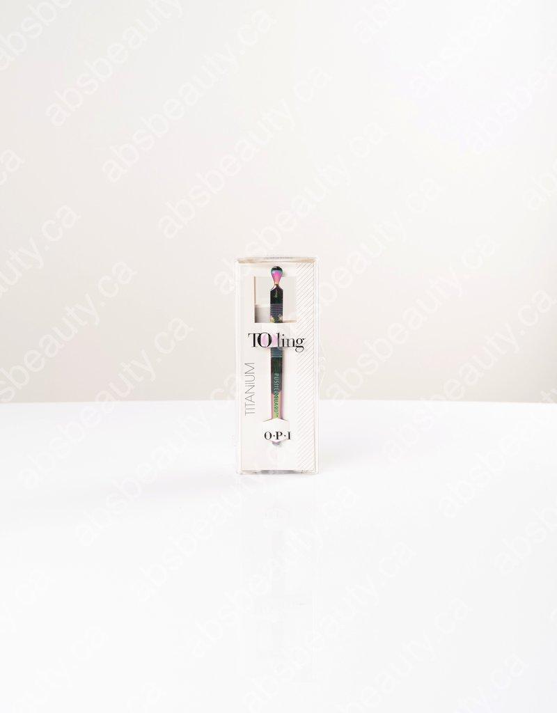 OPI OPI Tooling - PusherGuard - Sensitive Cuticle Pusher - Titanium