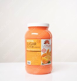 LaPalm LaPalm Hot Oil Sugar Scrub - Orange Tangerine Zest - Gallon