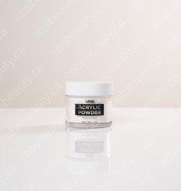 Unik Unik Acrylic Powder - White Glitter - 1.75oz