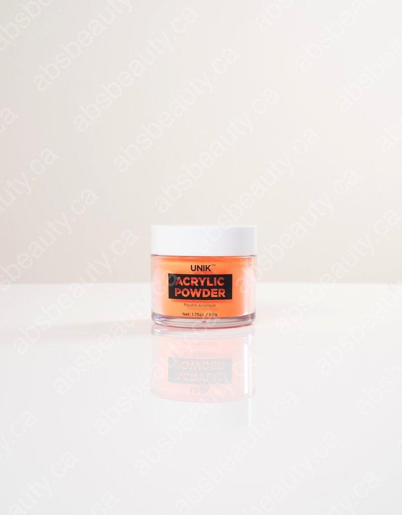 Unik Unik Acrylic Powder - Bright Orange - 1.75oz