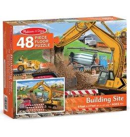 Melissa & Doug Building Site 48pc Floor Puzzle