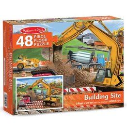 Melissa & Doug Building Site Floor Puzzle 48 pc
