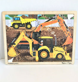 Melissa & Doug 24pc Construction Jigsaw