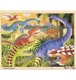Melissa & Doug Dinosaur Jigsaw 24 pc
