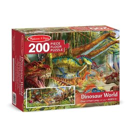 Melissa & Doug 200 pc Dinosaur World Floor Puzzle