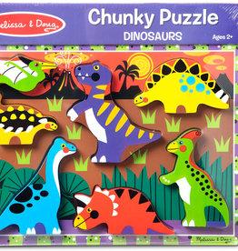 Melissa & Doug Dinosaurs Chunky Puzzle