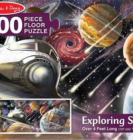 Melissa & Doug 200 pc Exploring Space Floor Puzzle