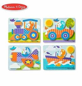 Melissa & Doug Vehicles Jigsaw Puzzle Set