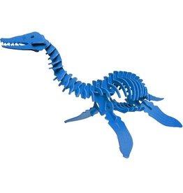 Boneyard Pets Harry the Plesiosaurus 3D Puzzle Blue