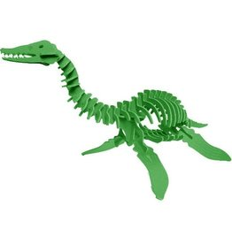 Boneyard Pets Harry the Plesiosaurus 3D Puzzle Green
