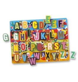 Melissa & Doug Jumbo ABC Chunky Puzzle (UC)