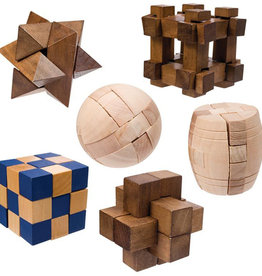 Toysmith Mini Wood Puzzles
